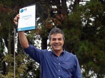 Governador Beto Richa recebe o prêmio Strategy Awards concedido pelo Financial Times pelo melhor programa de incentivo para atração de investimentos no mundo. Curitiba, 30/03/2017 Foto: Ricardo Almeida / ANPr