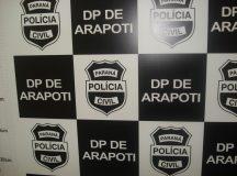 Operação Policial em Arapoti prende responsável por crimes na região