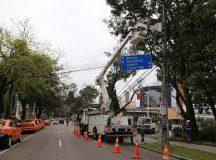 Desligamentos de energia reduzem 23% no Paraná
