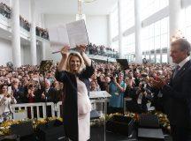 Cida Borghetti assume o Governo do Estado do Paraná. Curitiba, 06/04/2018. Foto: Orlando Kissner/ANPr