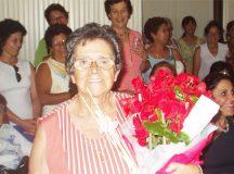Dona Chiquinha homenageada no Dia da Mulher, em 2005, na Casa da Cultura