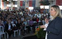 Governadora Cida Borghetti participa em Jacarezinho, no Norte Pioneiro, do 2º Seminário Regional de Professores do Programa Agrinho. Jacarezinho, 17/05/2018. Foto: Orlando Kissner/ANPr