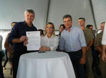 Juca, Governadora Cida Borghetti e ex-governador Beto Richa