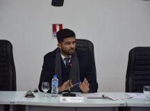 Promotor José de Oliveira Júnior conduziu o debate. Foto: Divulgação/ Câmara Municipal
