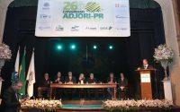 A governadora Cida Borghetti participou nesta sexta-feira (22) do 26º Congresso da Associação de Jornais e Revistas do Interior do Paraná (Adjori-PR), na Lapa. Lapa,22/06/2018 Foto:Jaelson Lucas / ANPr