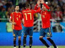 Espanha e Portugal avançam às oitavas de final pelo grupo B