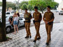 Aumento de efetivo policial militar em Cianorte reduziu a criminalidade.Cianorte,03/09/2014. Foto - Antonio Costa