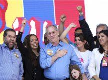 O PDT confirmou a candidatura de Ciro Gomes à Presidência da República, na convenção nacional que reuniu filiados do partido.Foto Marcelo Camargo/Agência Brasil