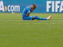 Copa 2018: Brasil e Costa Rica. Neymar do Brasil após o jogo.