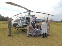 Serviço aeromédico regional faz primeiro atendimento em Jaguariaíva
