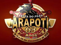 Festa do Peão de Arapoti 2018 está confirmada