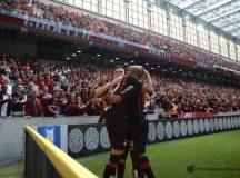 Atlético atropela o Flamengo na Arena da Baixada