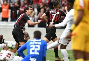 Atlético joga bem e vence Fluminense na Arena