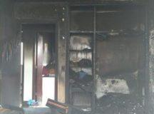 Assaltantes invadiram e incendiaram casa no Residencial II em Arapoti