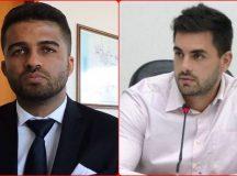 Promotor José de Oliveira e vereador Lelo. Fotos: Reprodução e Divulgação