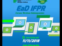 Estão abertas inscrições para cursos técnicos do polo do IFPR de Arapoti