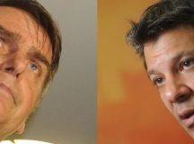 Bolsonaro e Haddad farão segundo turno