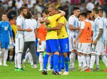 Brasil ganha nos acréscimos da Argentina por 1×0