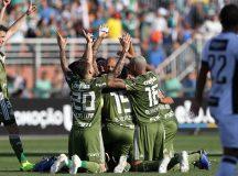 Palmeiras vence o Ceará e se mantém na liderança
