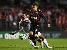 Atlético empata com São Paulo no Morumbi