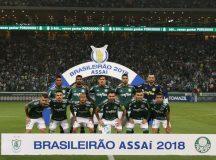 Palmeiras goleia o América-MG e fica a dois pontos do título