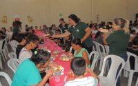 Secretaria promove Almoço de Natal para usuários dos CRAS