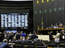 Deputados e senadores aprovam o projeto da lei orçamentária de 2019.