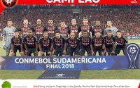 Atlético bate o Junior Barranquilla e é campeão da Sul-Americana