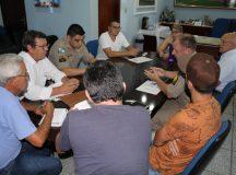 Reunião no Gabinete da Prefeita Nerilda Penna. Foto: Divulgação/PMA