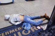 Um dos assaltantes morreu no local. Foto: Divulgação