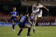 SP - Sao Paulo - 02/13/2019 - Libertadores 2019, Sao Paulo X Talleres-ARG - player Diego Souza from Sao Paulo during match against Talleres at the Morumbi Stadium for the championship Libertadores 2019. Photo: Daniel Vorley / AGIF