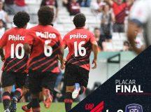 Athletico vence Cianorte na Arena da Baixada, mas não se classifica para semifinais