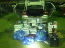 Produtos foram avaliados em mais de R$ 30 mil pela PM. Foto: Reprodução/CATVE.COM