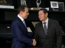 Presidente da República em Exercício, Hamilton Mourão. Foto: Romério Cunha/VPR