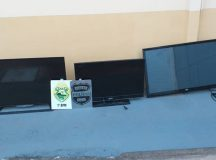 Ao todo, Polícia recuperou três televisores. Foto: Divulgação/Polícia Civil