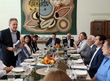 Almoço e apresentação do plano de metas do governo,com governador Carlos Massa Ratinho Jr , bancada federal, senadores e Paulo Rabello. Foto de Gilson Abreu/ANPr