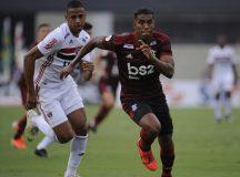 No Morumbi, São Paulo e Flamengo ficaram no empate