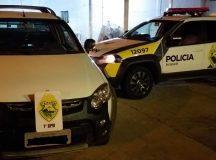 PM recupera em Arapoti veículo roubado em São Paulo