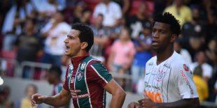 Corinthians perde para o Flu com falha de Cássio
