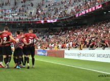 Athletico goleia o Goiás por 4 a 1 no Caldeirão