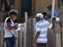 Jaguariaíva iniciou visitas para regularização fundiária de 850 lotes