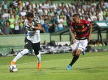 Coxa empata com o Sport no Couto Pereira
