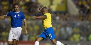 Romário foi um dos destaques da seleção. Foto: CBF