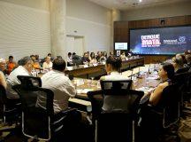 Reunião de combate a dengue. Curitiba,18/02/2020 Foto:Jaelson Lucas / AEN